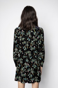 Reveal Velvet Blossom Dress