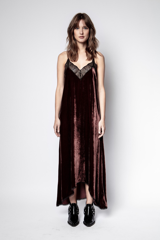 Robe Risty Velvet
