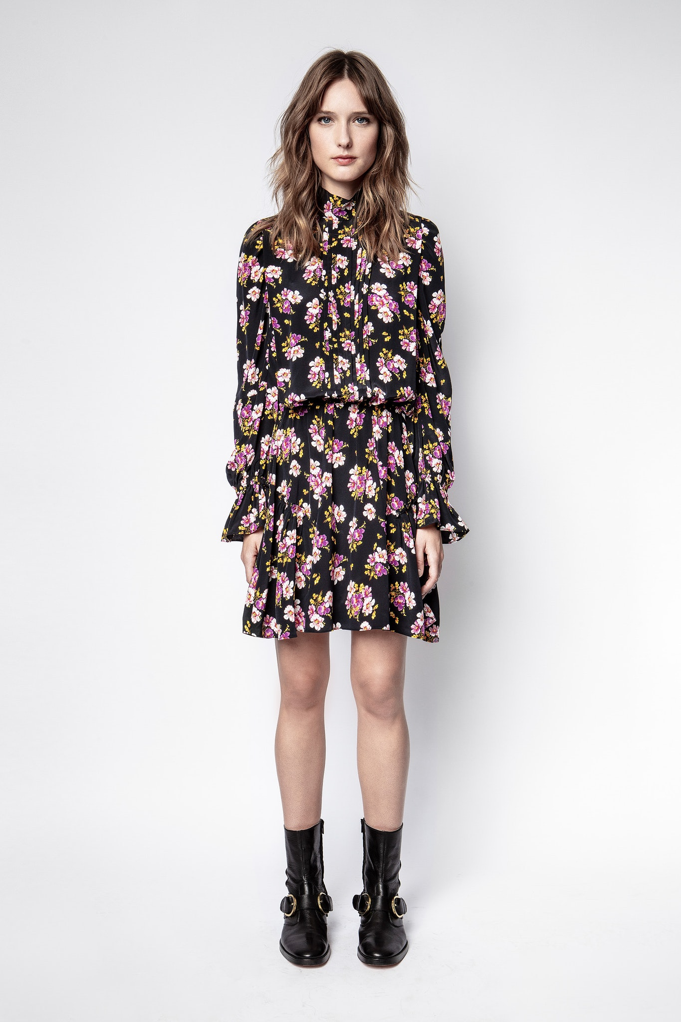 Rabbi Peonies Dress