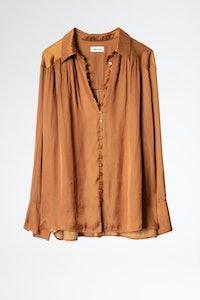 Trent Satin Shirt
