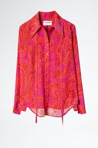 Camisa Tessi Paisley Peacock