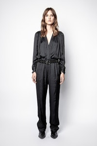 Jumpsuit Captain Satin