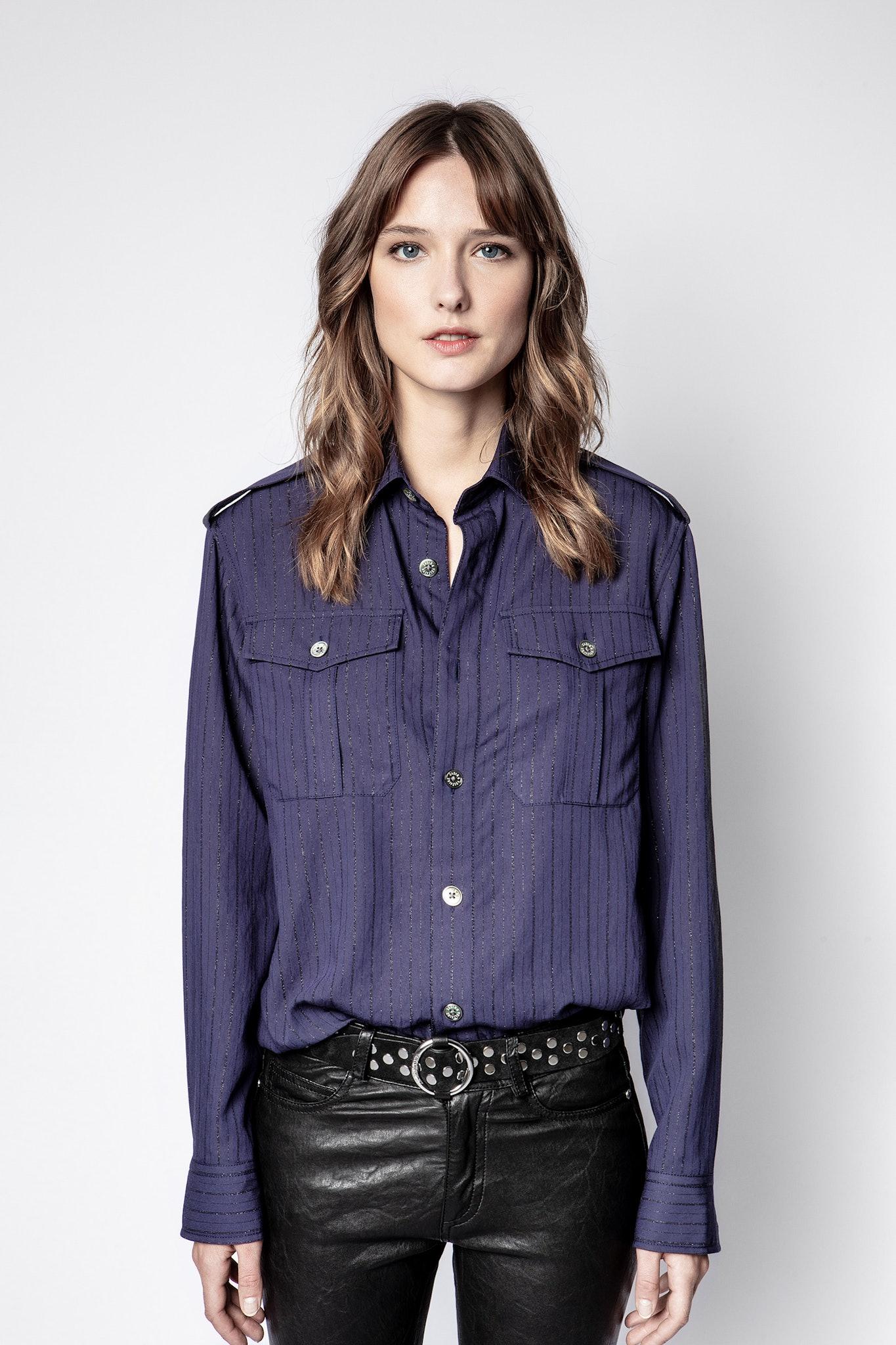 Taska Pinstripe Shirt