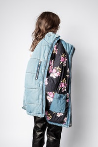 Blouson Keim Down Denim Eco