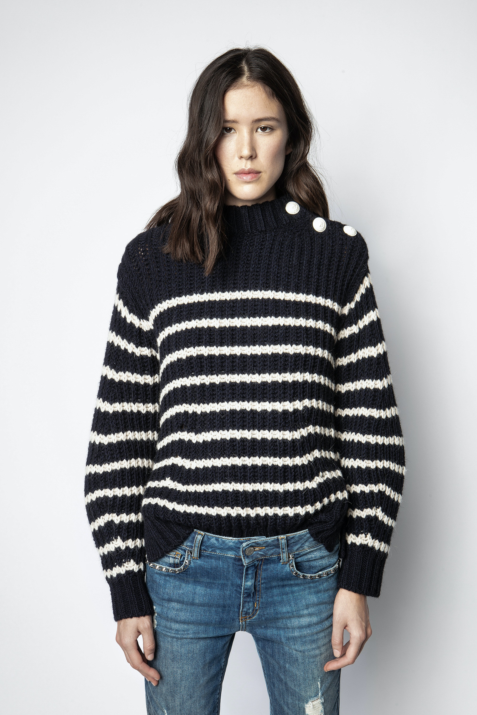 Marlon Striped Sweater