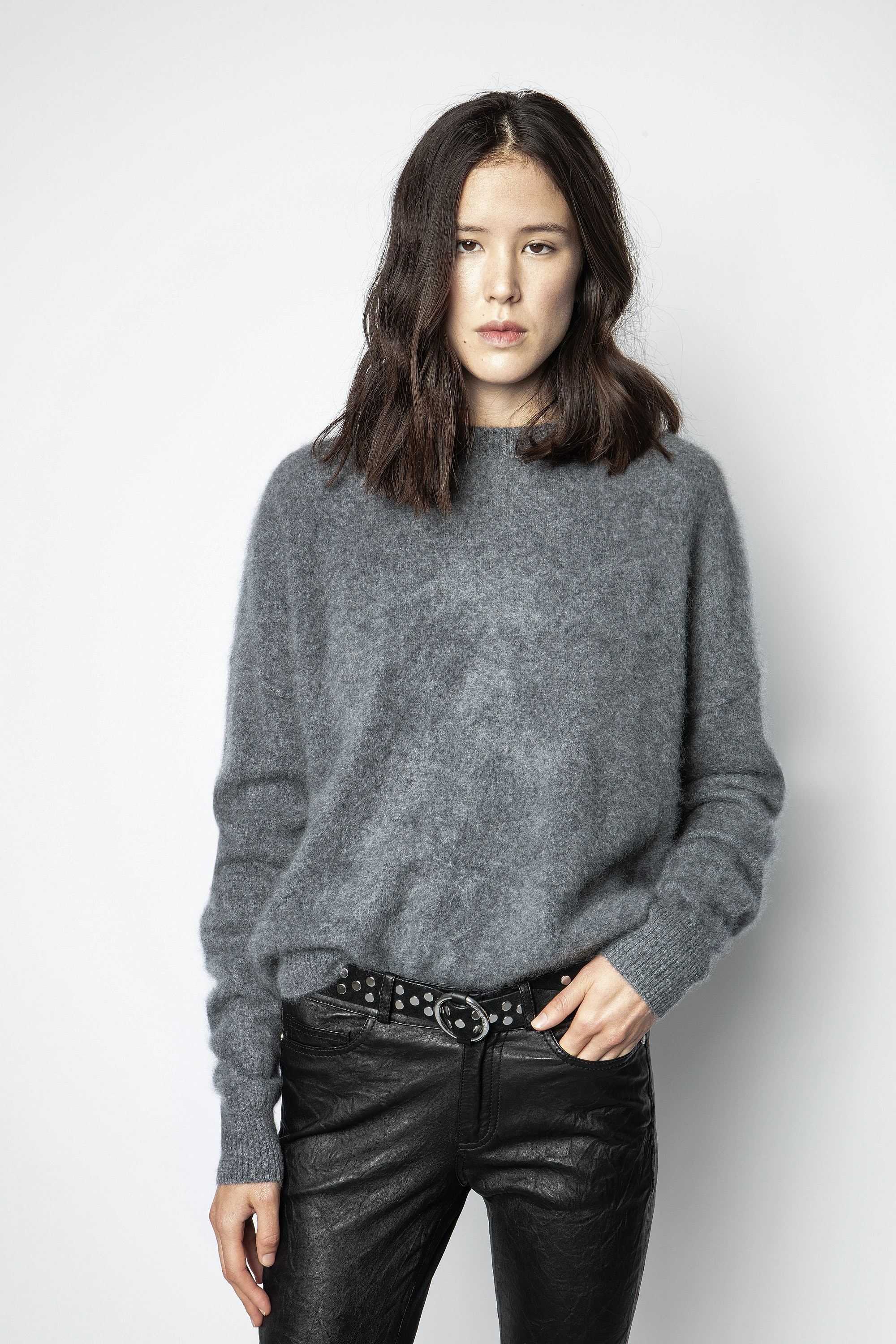 Roby Brushed Cachemire Sweater