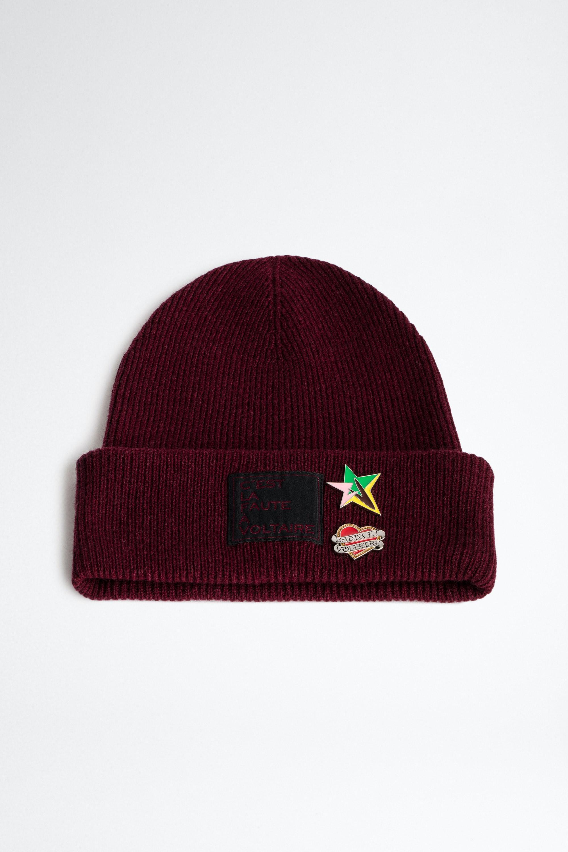 Mütze Aglae Pins Badge