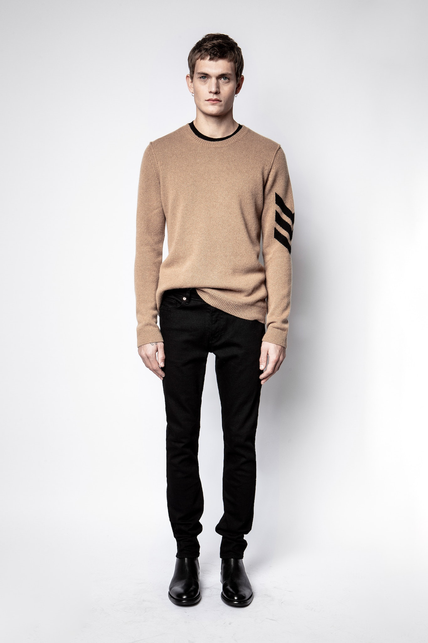 Kennedy Cachemire Arrow Sweater