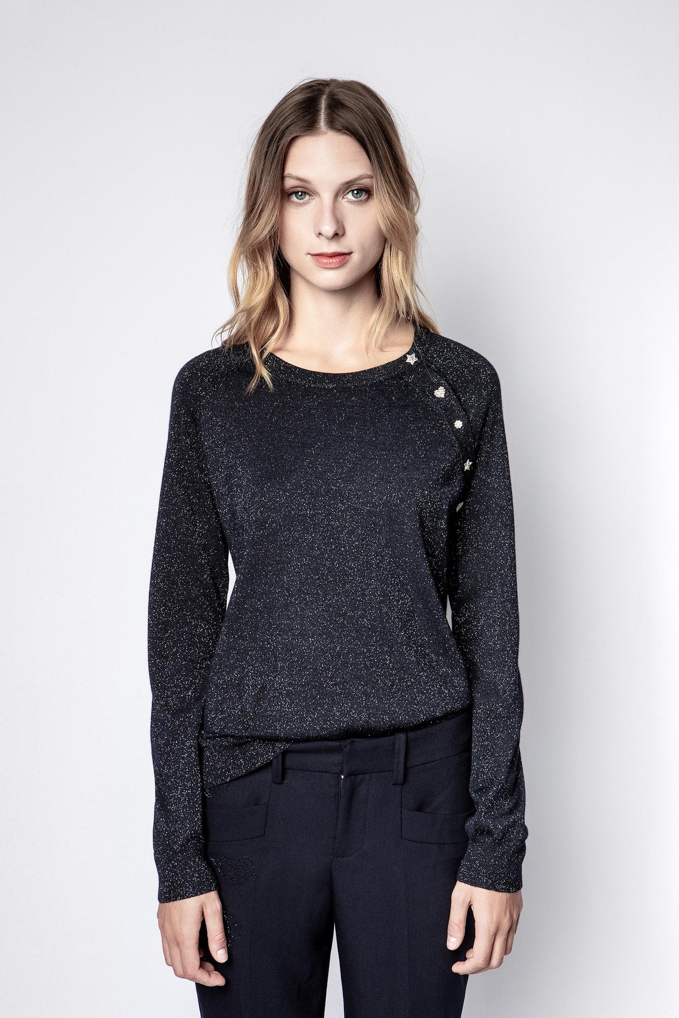 Reglis Lurex Sweater
