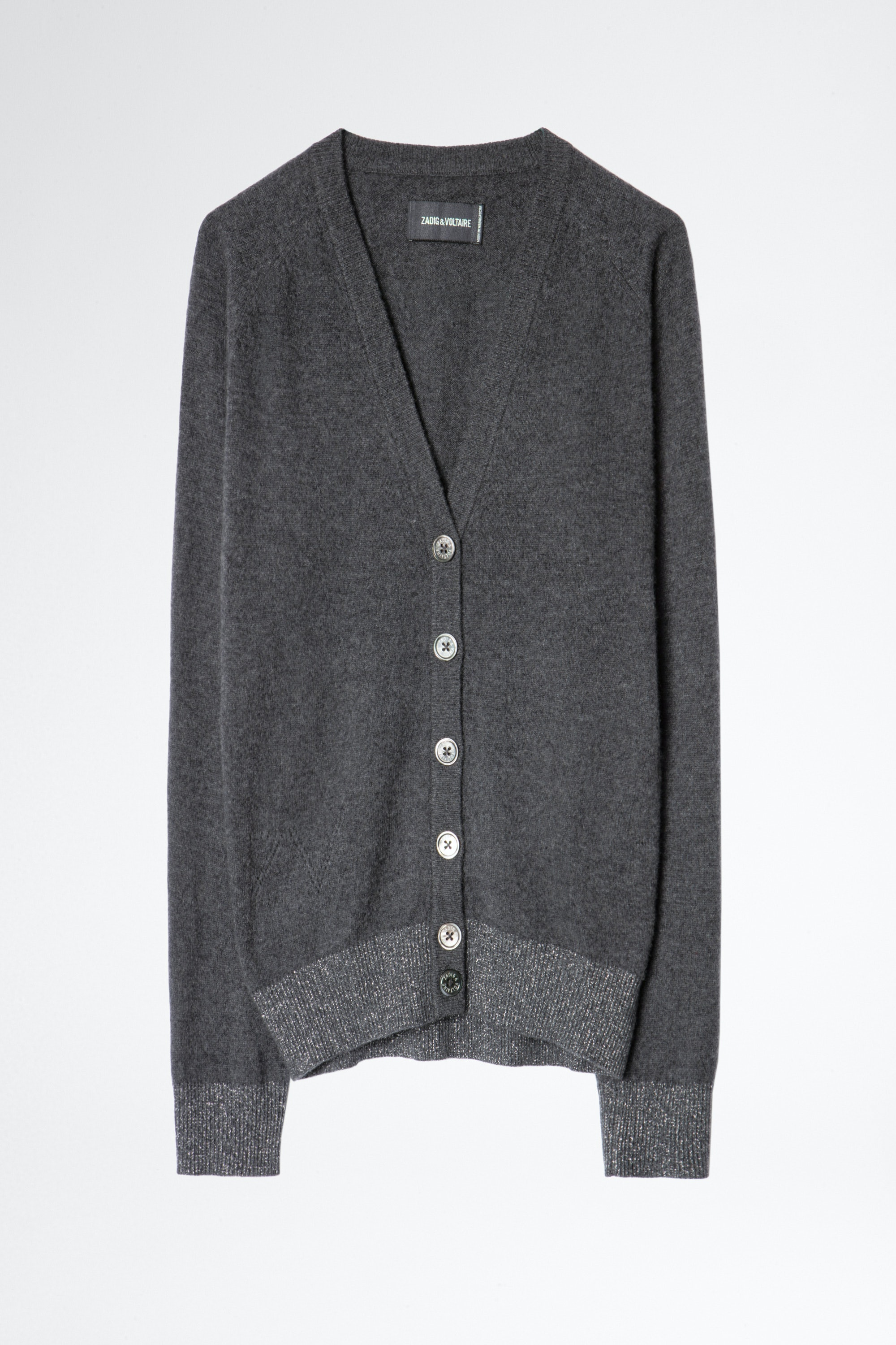 Jim Patch Lurex Cachemire Cardigan