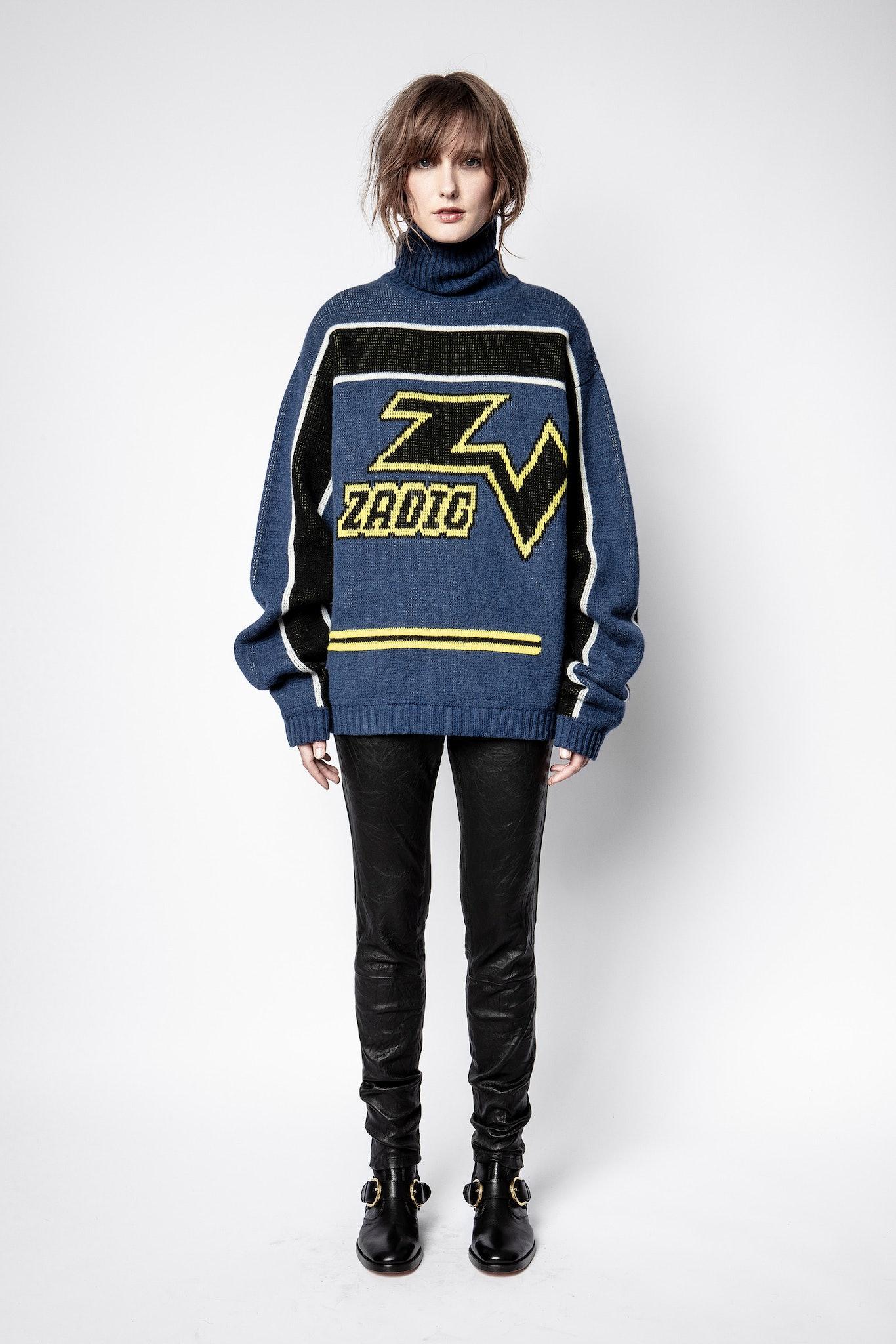 D-Roy Biker Sweater