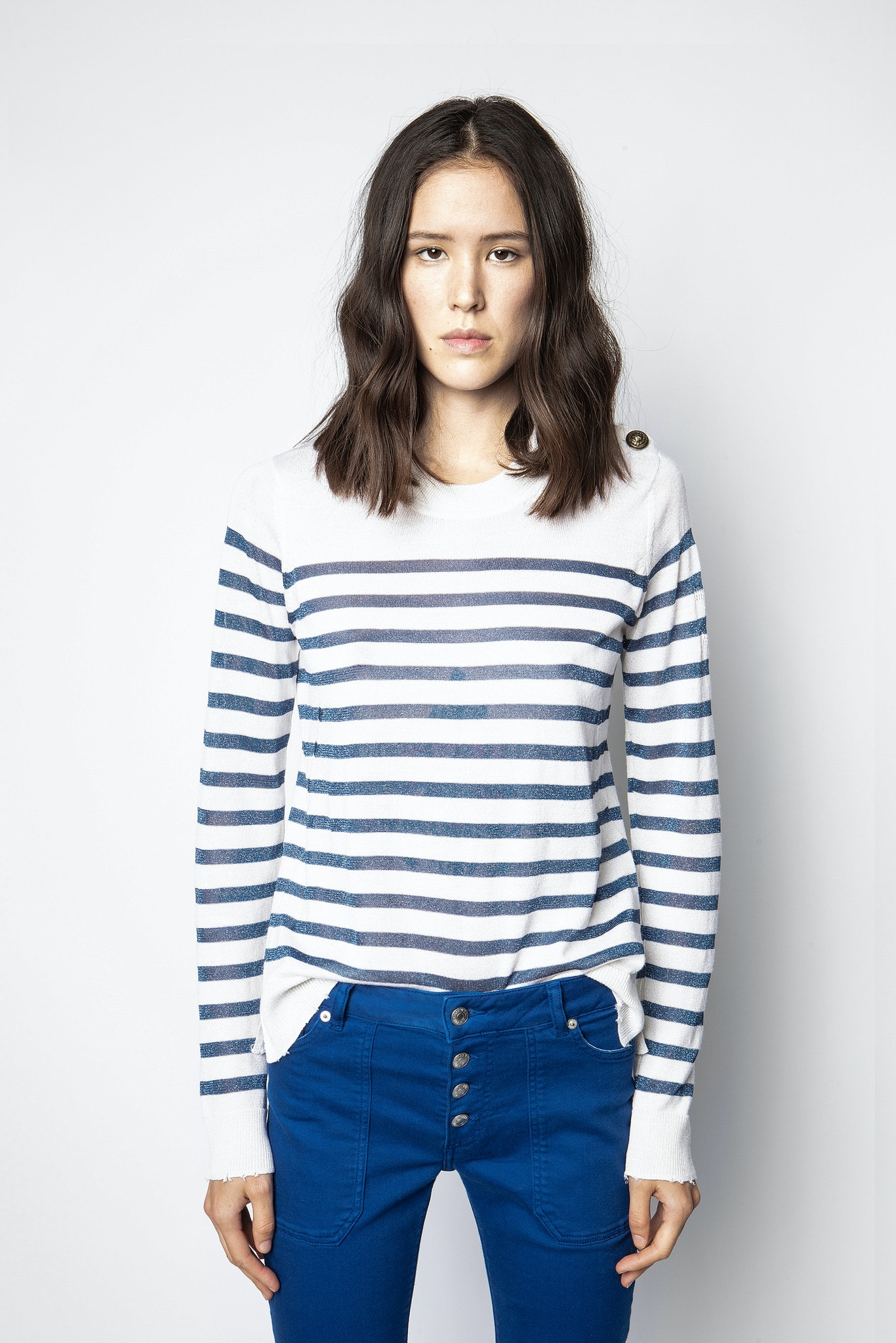 Miss Stripes Sweater