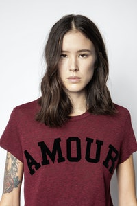 T-Shirt Walk Amour Overdyed