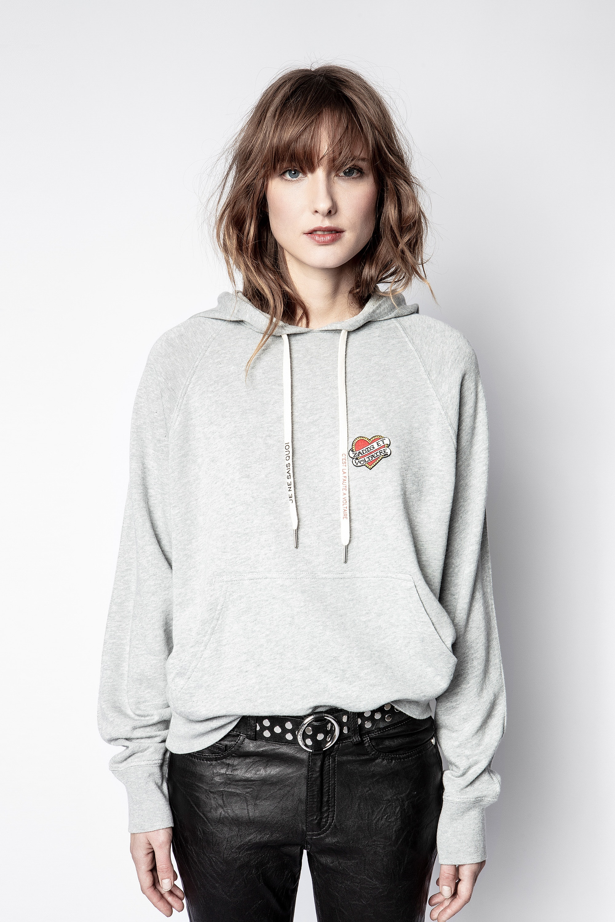 Sweatshirt Clipper Heart Iconics
