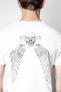 Top con cuello tunecino Monastir Eagle Skull