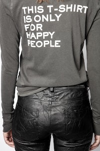 Henley-Shirt Happy People