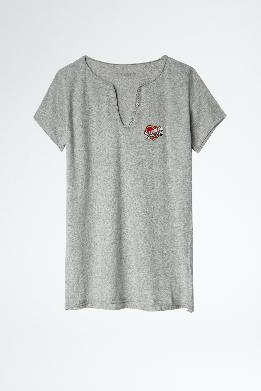 Small Heart Iconics Henley T-shirt