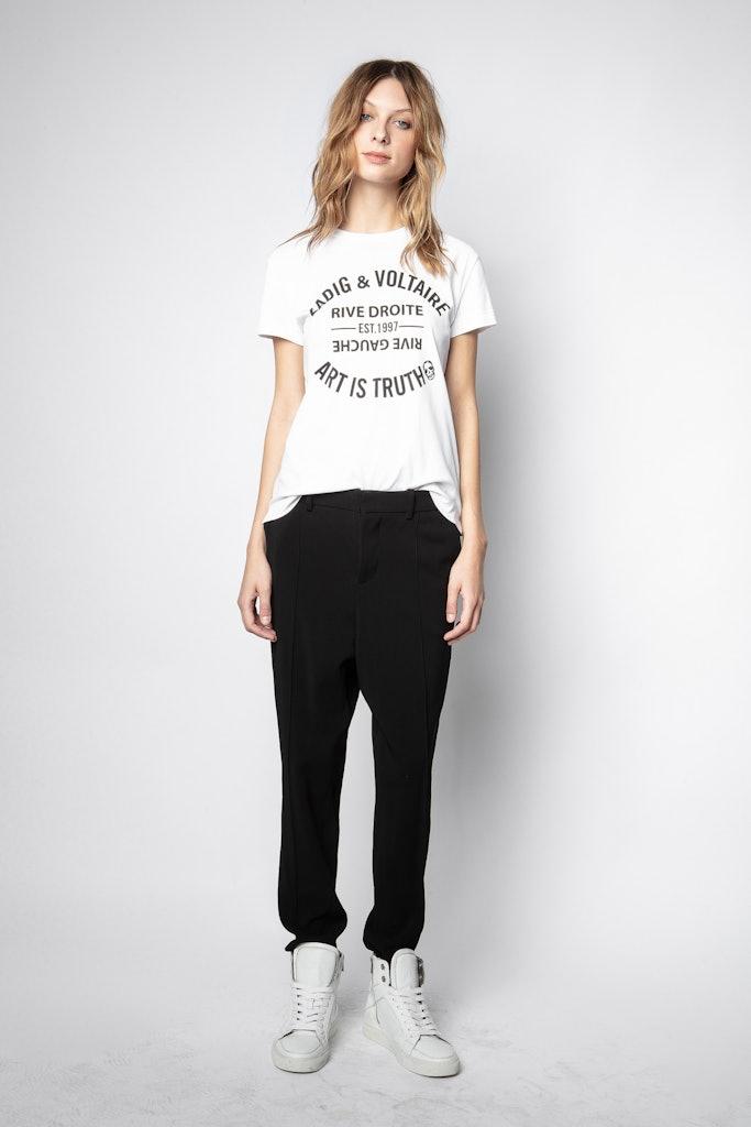 T-Shirt Walk Blason - Zadig & Voltaire - Modalova