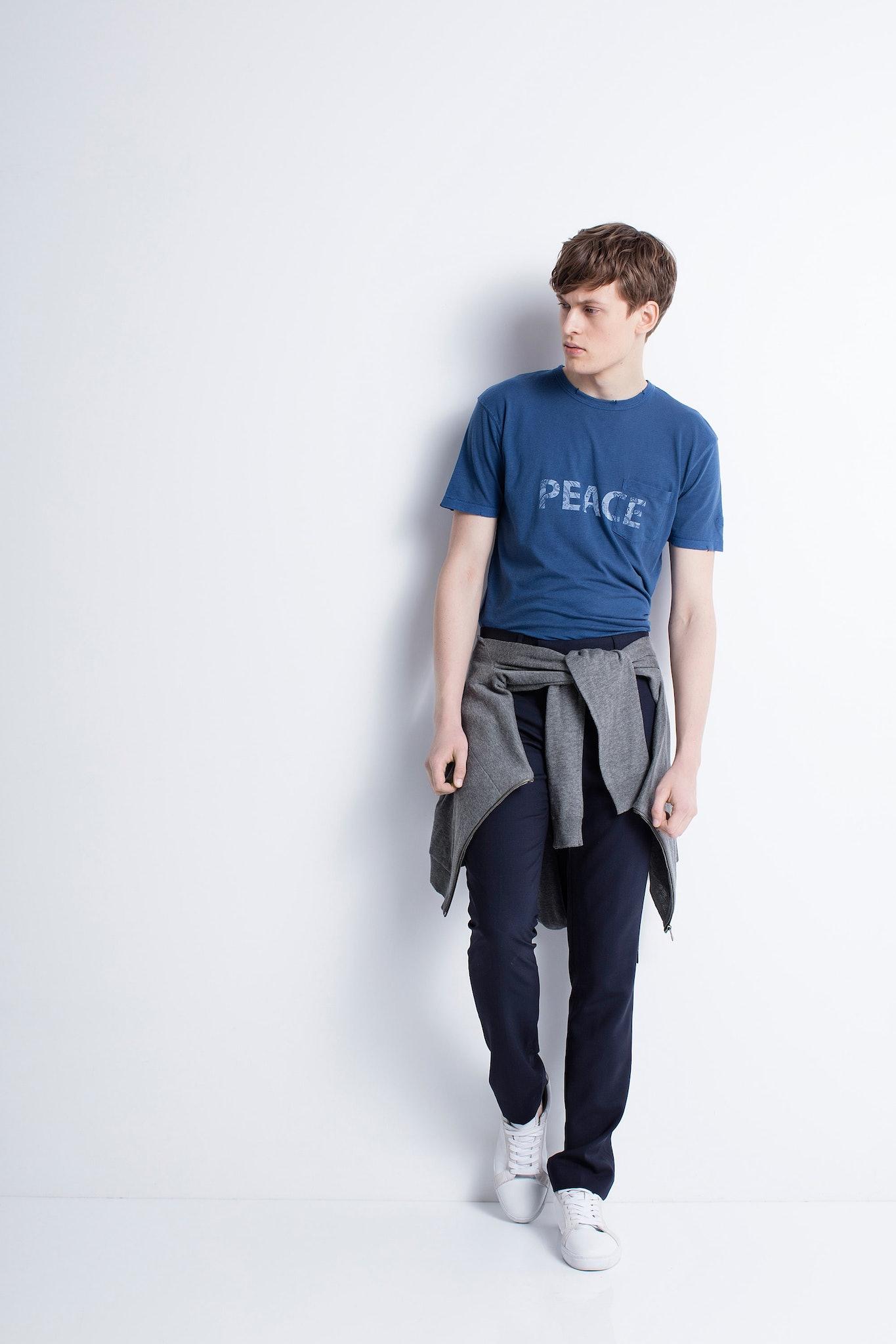 Herren-T-Shirt Stockholm Overdyed