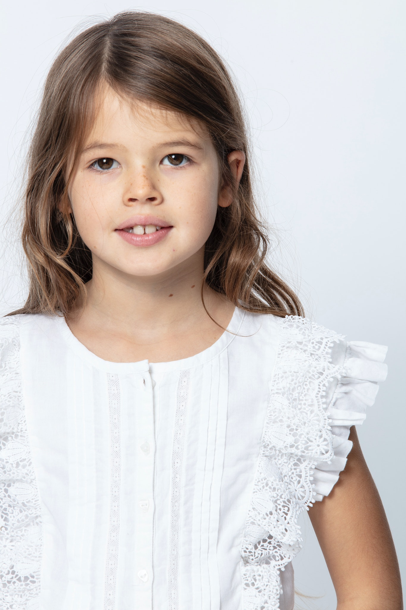 KIDS' GISELE BLOUSE