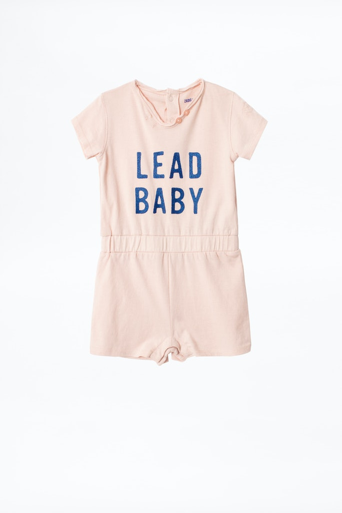 KIDS' PINK BODYSUIT