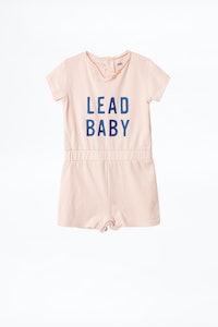COMBINAISON ROSE ENFANT