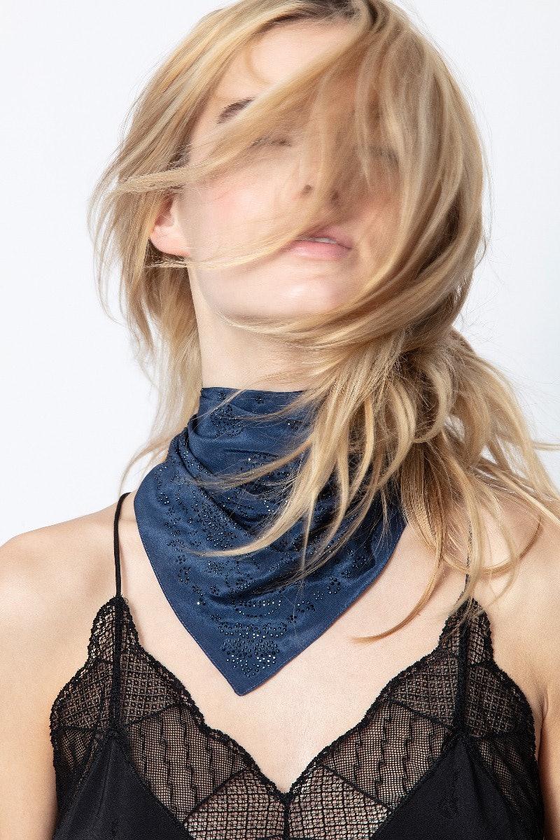 Bandy Paisley Silk Scarf