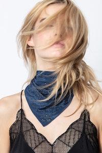 Foulard Bandy Paisley Silk