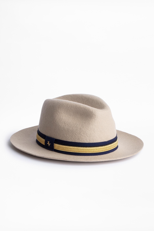 Chapeau Alabama Gold Ribbon