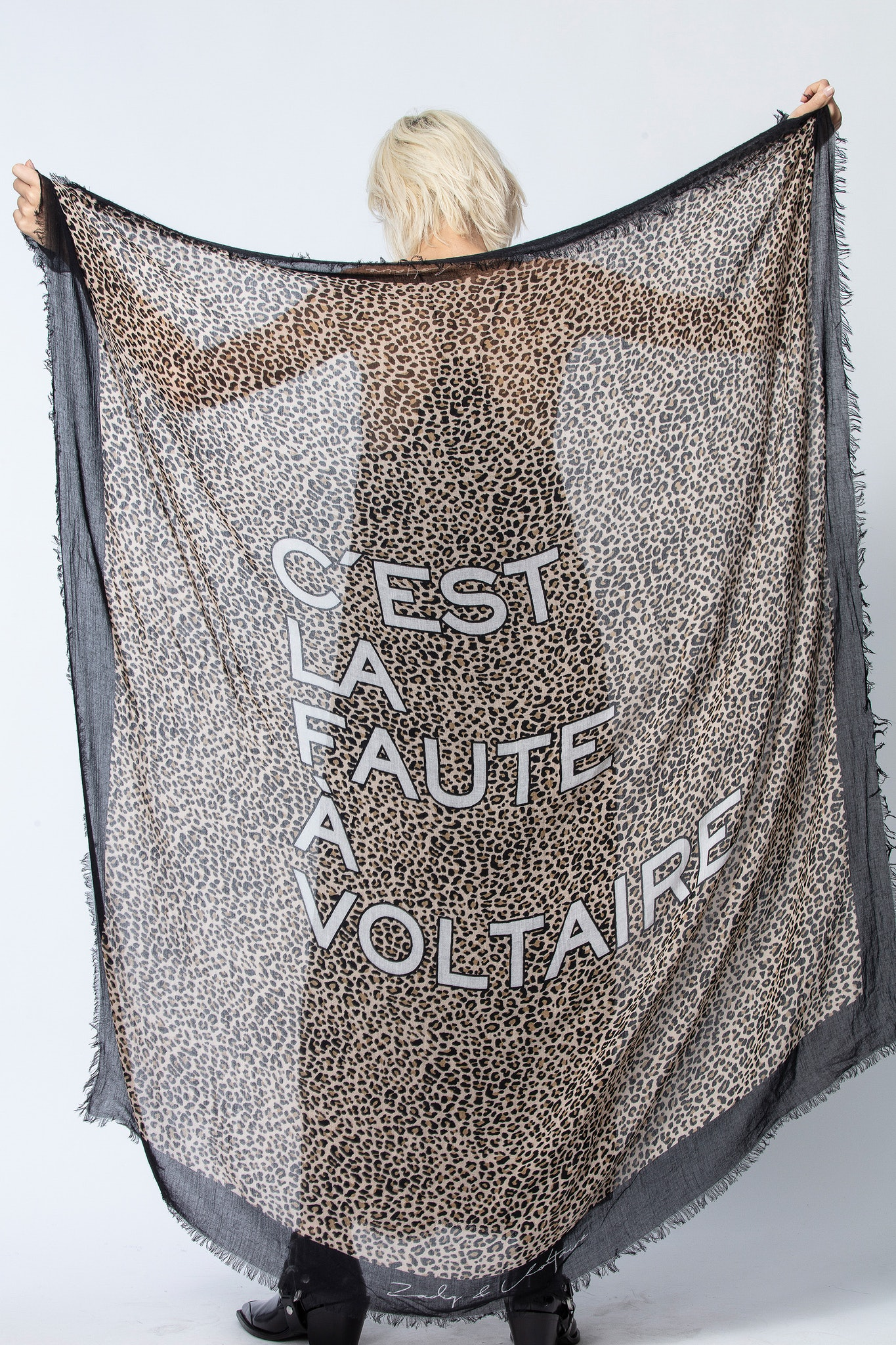 Halstuch Delta C'est La Faute à Voltaire