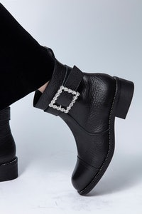 Bottines Empress Buckle