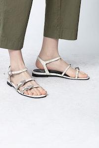 Sandales Paros Strass