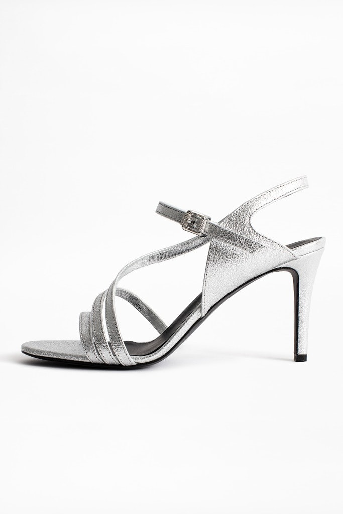 Marilyn Metallic Sandals