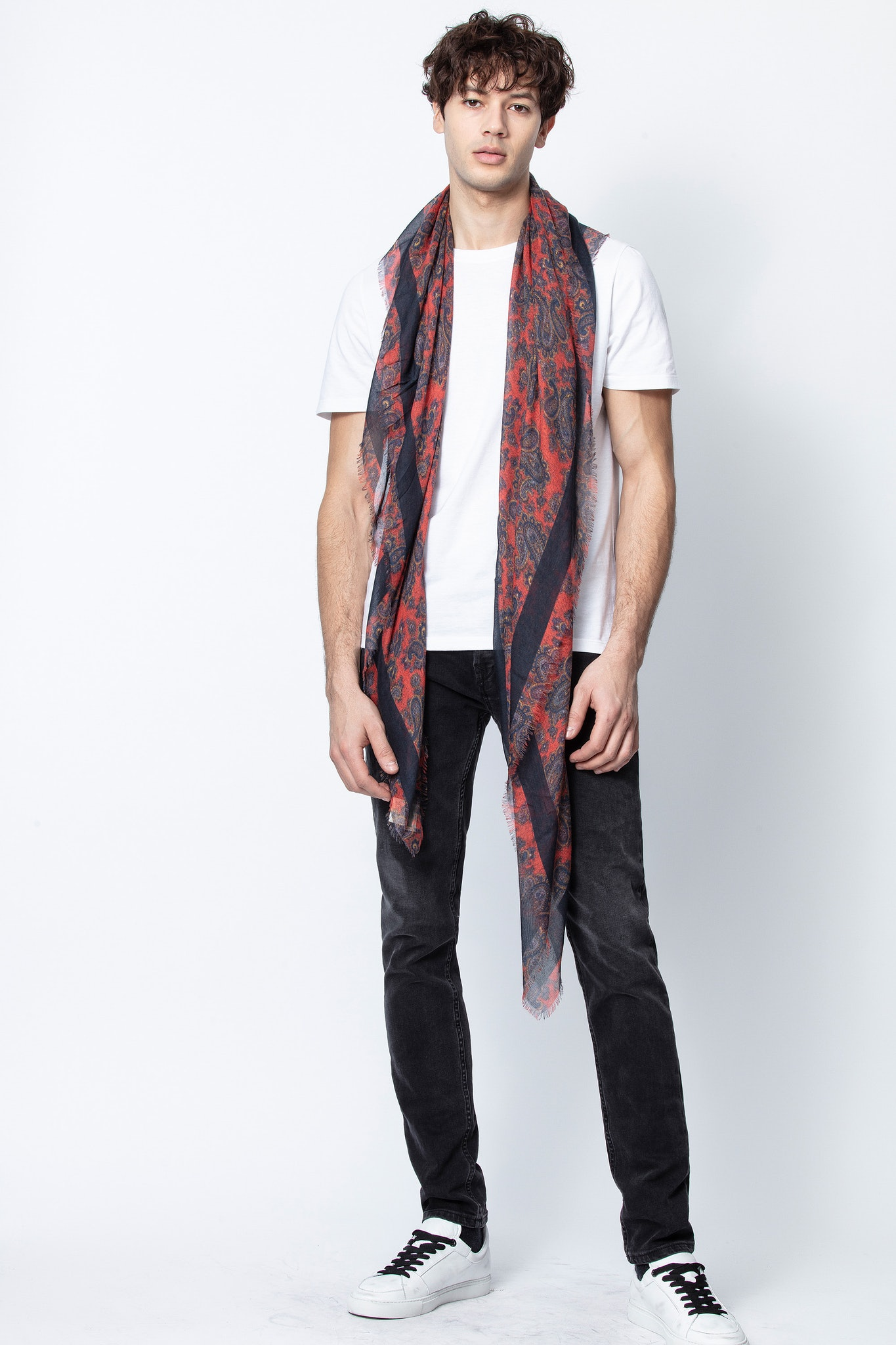Kerry Cashmere Print Scarf