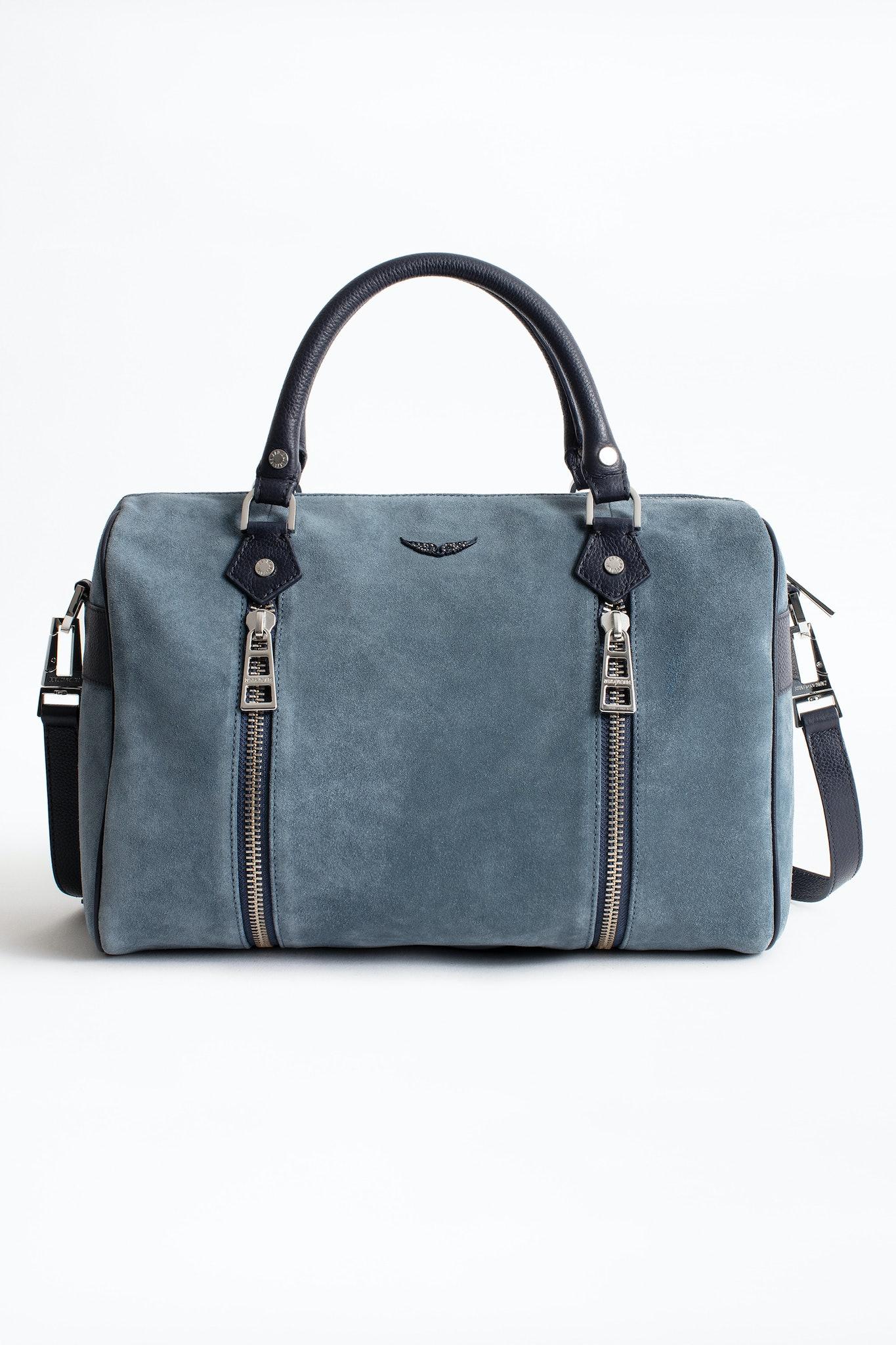 Sunny Medium Suede Bag