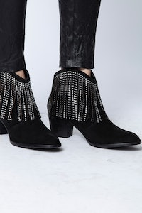 Bottines Molly Strass Fringe