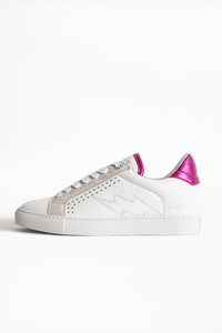 ZV1747 Metallic Sneakers