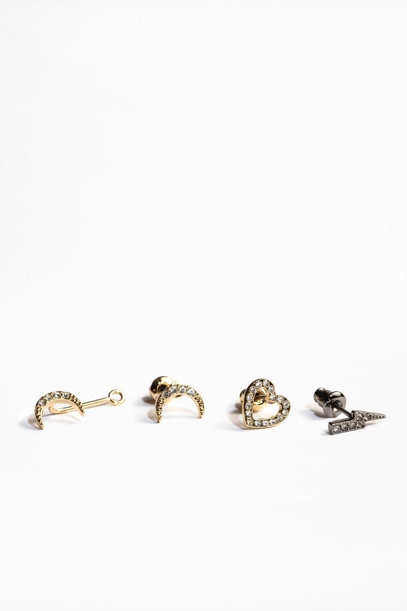 Mix N Match Trio Earrings