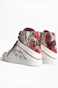 ZV1747 High Flash Wild Sneakers
