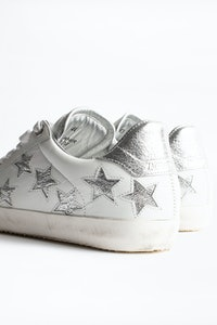 ZV1747 Stars Metallic Sneakers