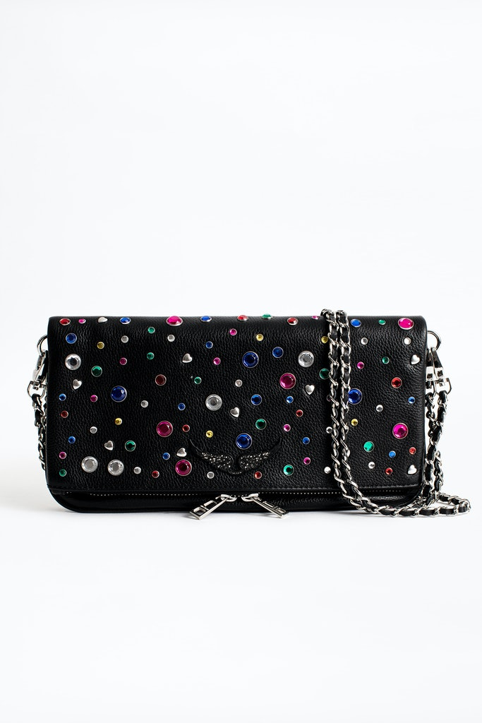 Rock Hearts Clutch