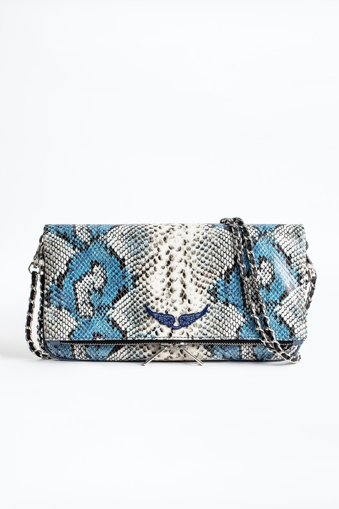 Rock Painted Wild Clutch