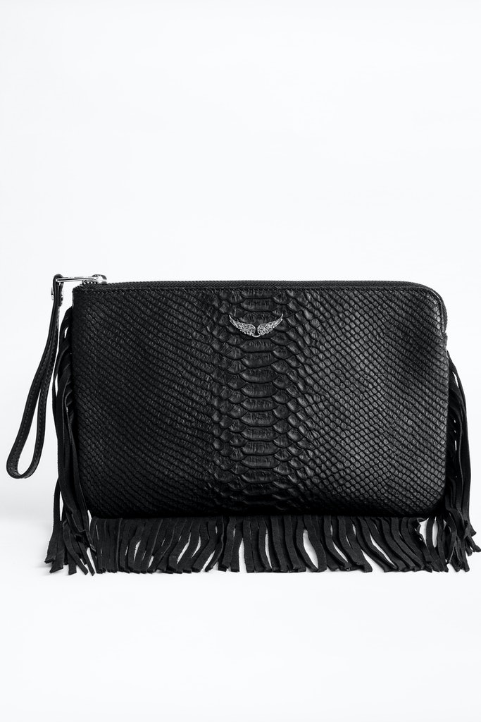 Uma Fringes Savage Clutch