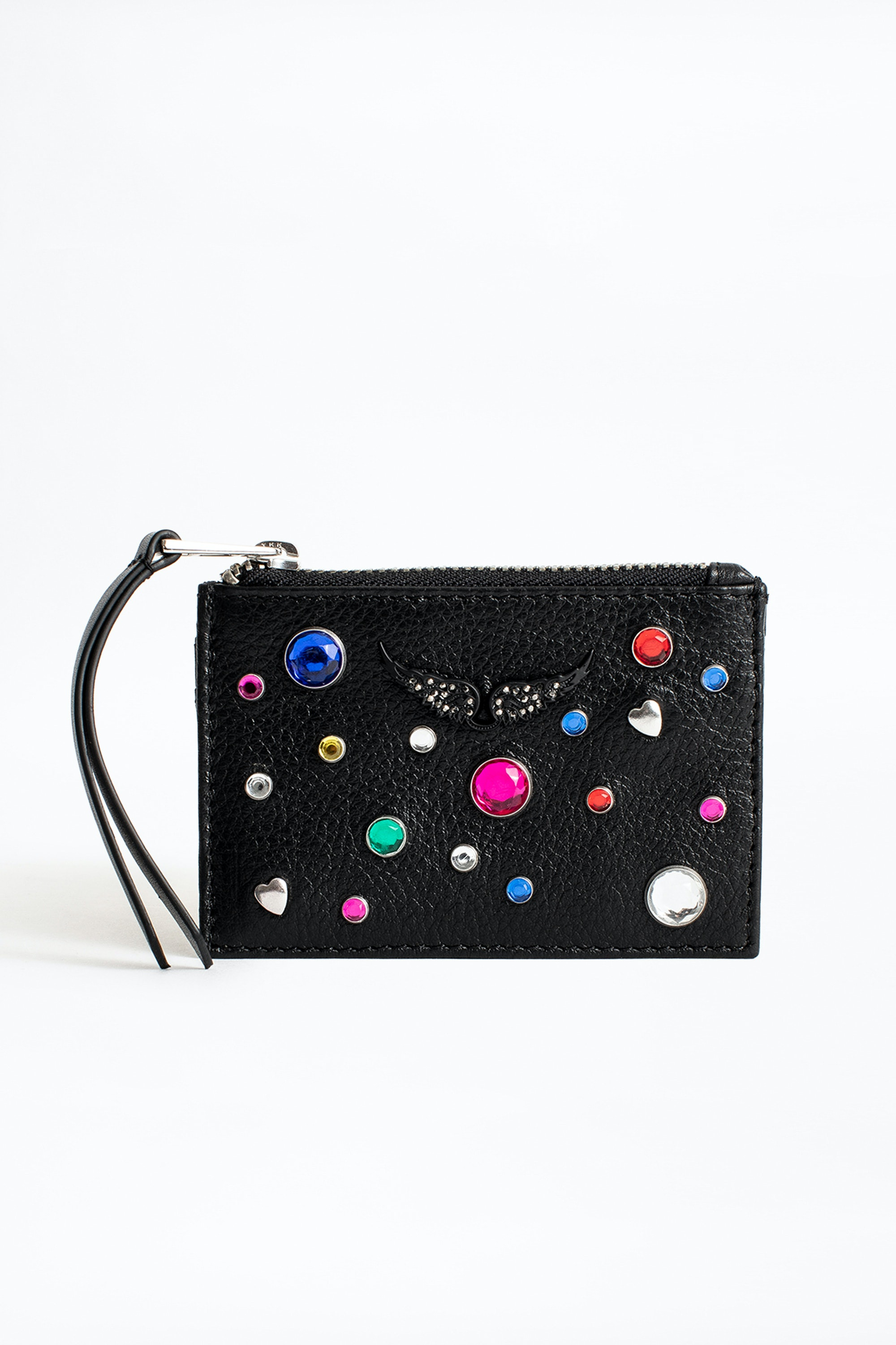 New Womens Long Purse Girls Polka Dot Print Wallet Ladies Patent  Coin Purse
