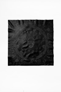 Foulard Bandy Paisley Leather