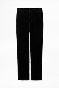 Posh Velvet Pants