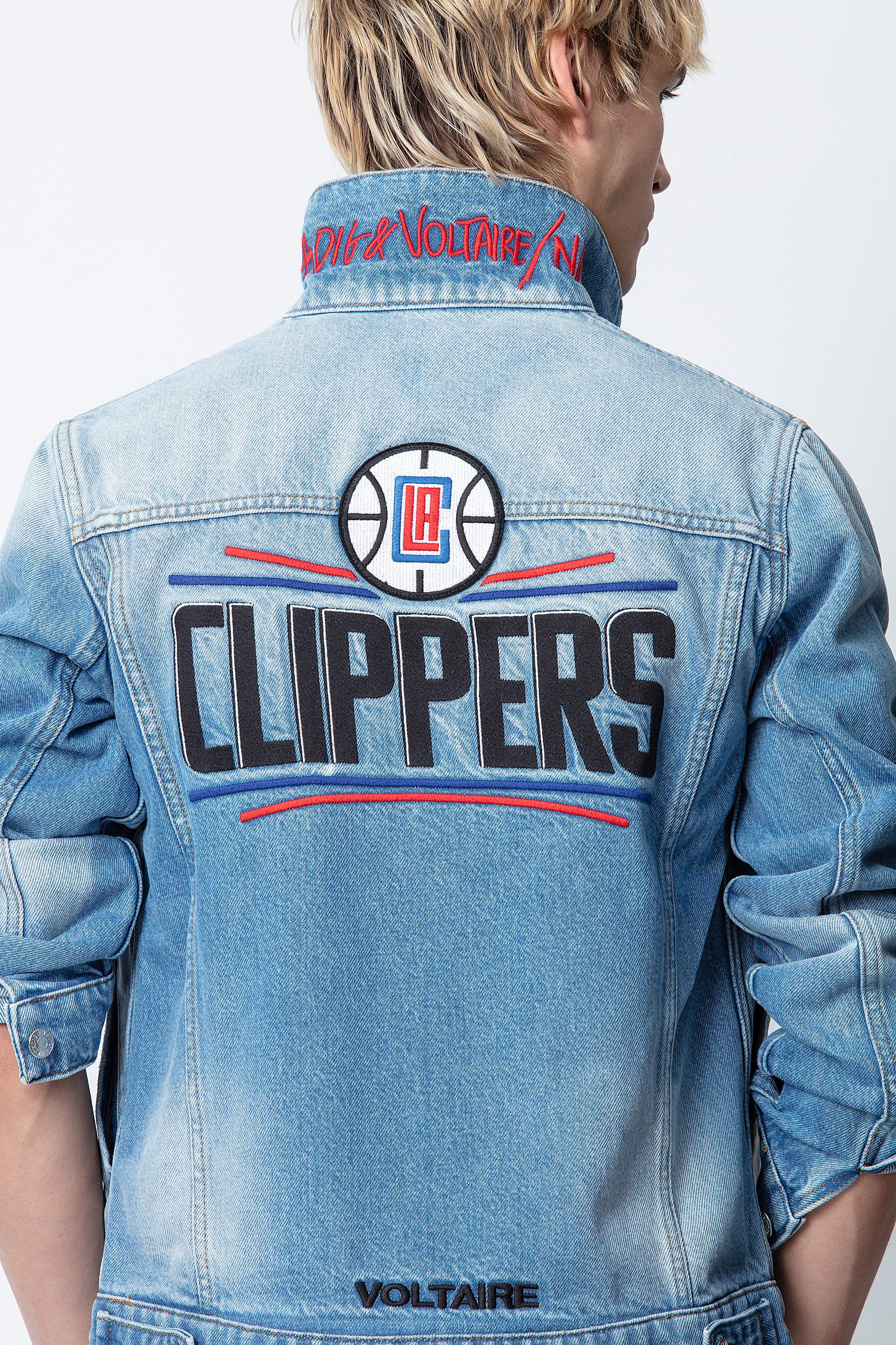 Base LA Clippers Jacket