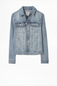 Kioky Denim Broderie TDM Jacket