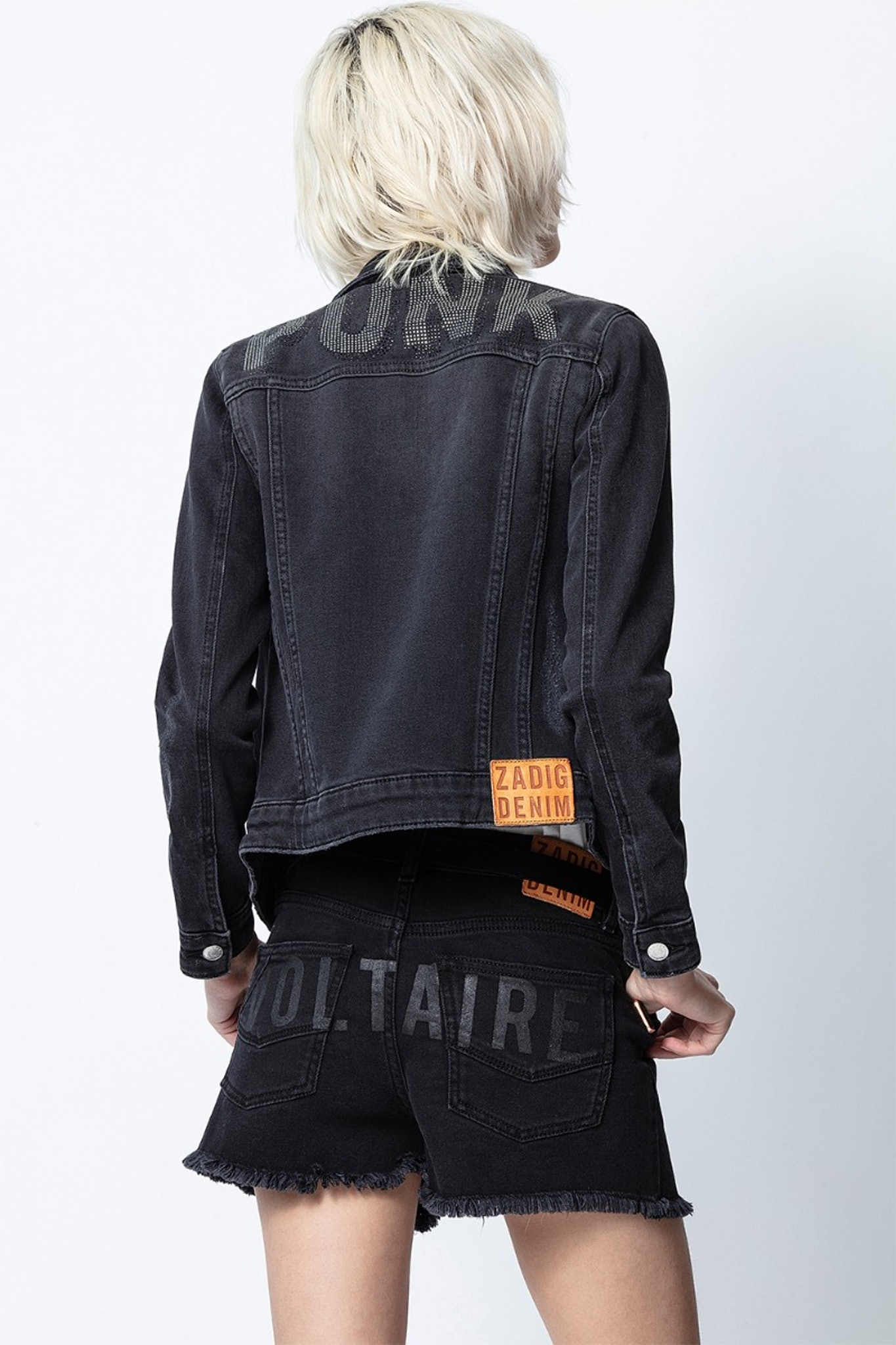 Kioky Punk Strass Jacket
