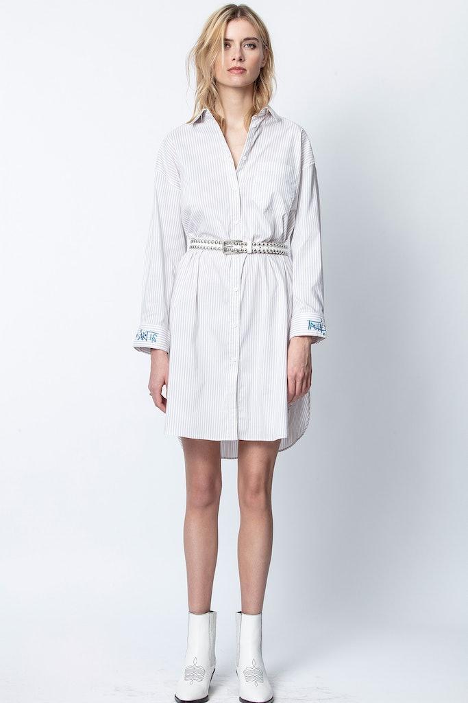 Resley Rayé Dress